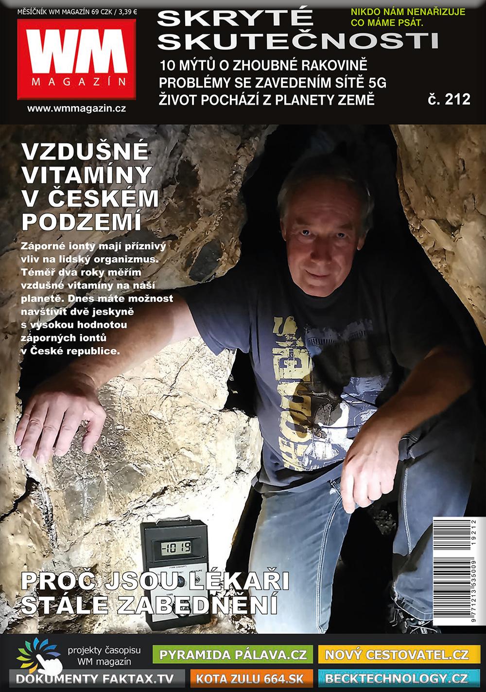 časopis wm magazín-skryté skutečnosti